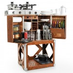 Camp Champ Is Compact Mobile Kitchen That Accommodates Your Mobile Lifestyle