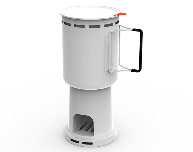 Camp Stove by Studio GORM