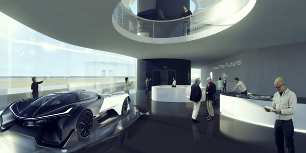 Campus Design Proposal for Faraday Future (FF) by MAD Design