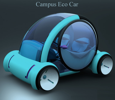 Moving Around Campus Is Easier With Campus Eco Car