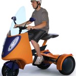 Campus Kart Allows Convenient Commuting And Space-Efficient Storing For Students In Campus
