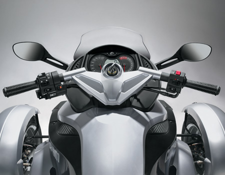 can am spyder motorcycle