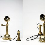 Cordless Candlestick Phone by Adam Ben-Dror