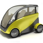 Capca, Space-Saving and Environmentally Friendly Car Concept