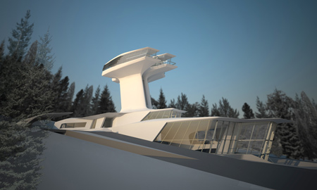 capital residence by zaha hadid