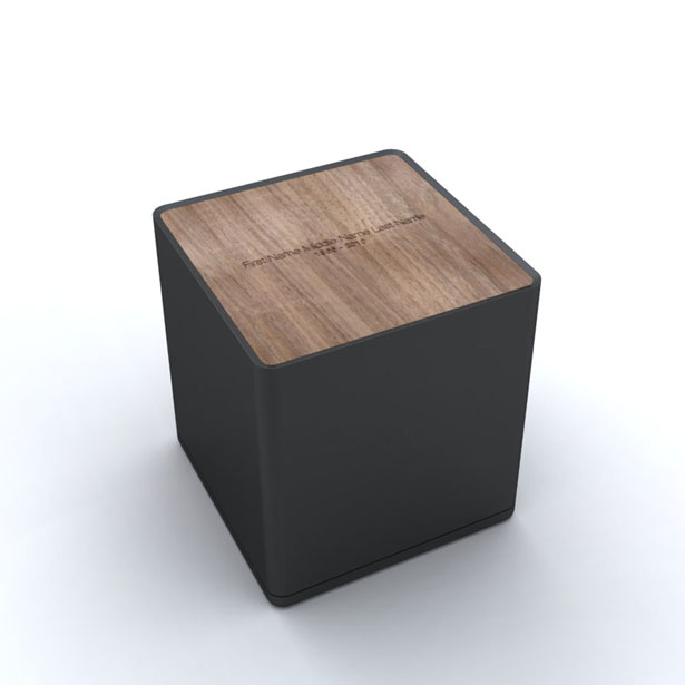 Modern Capsule Urns and Keepsakes by Capsule Project