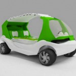 CarNurse Concept : Car for Medical Attention in Public Beach
