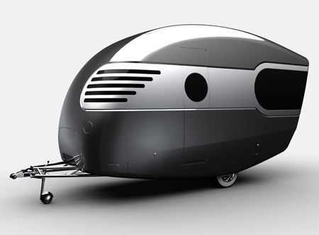 Caravan Design That is Inspired by Airstreams and 50s Style