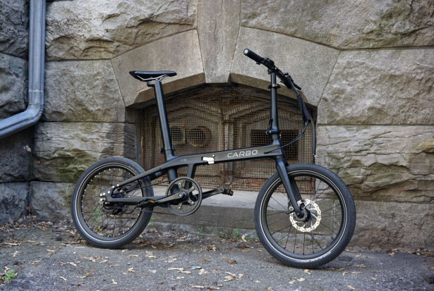 Carbo Ultra Light Folding Electric Bike