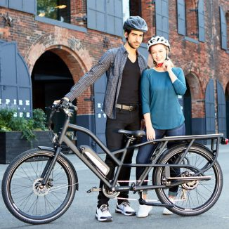 The Cargo Hauling Electric Bike Helps You Carry All Those Grocery Bags Easily