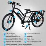 The Cargo Hauling Electric Bike
