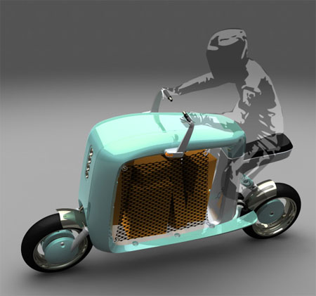cargo scooter concept