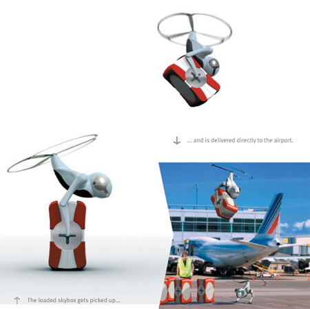 Cargonaut : Humanoid Flight Robot That Carry Your Luggage ...