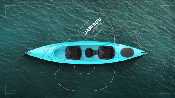 Caribou Adventure Kayak by 2sympleks