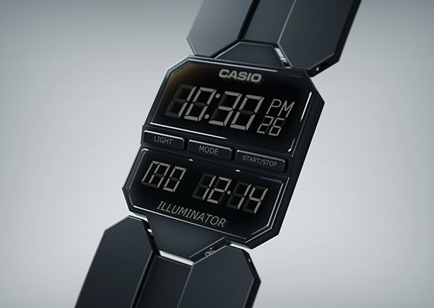 Casio E Series Dress Concept Watch by Arvid Roach