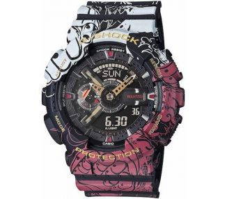 Casio Men's G-Shock One Piece Limited Edition Watch for Anime Lovers