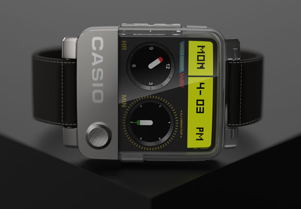 Smart Watch Concept Proposal for CASIO by Tyson Mai