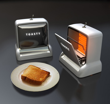Retro Cassette-deck Style Toaster That Fits Your Modern Kitchen