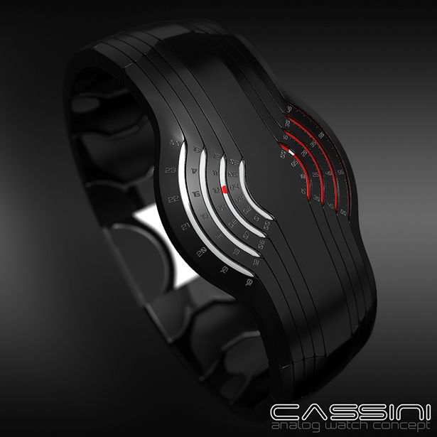 Cassini Analog Watch by Samuel Jerichow