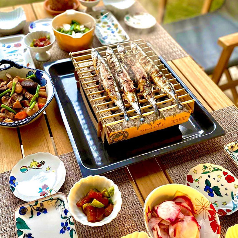 Casus Grill - Disposable, Eco-Friendly Instant Grill