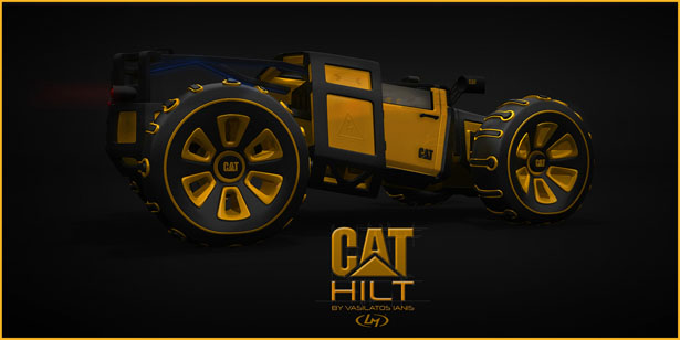 Cat Hilt Active Lifestyle Vehicle by Vasilatos Ianis