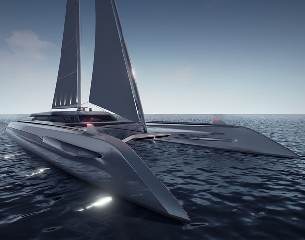 Eco Catamaran Yacht Concept By Rene Gabrielli Tuvie