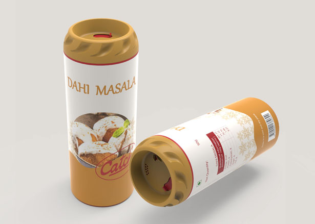 Catch Masala Sprinkler Packaging Design by Diti Agrawal