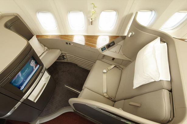 Cathay Pacific Luxury First Class Cabin by Foster + Partners