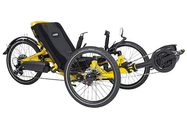 Catrike eCAT Trail Folding Electric Trike