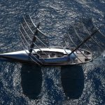 Cauta Super Sailing Yacht Design Is Inspired by Shy Albatross