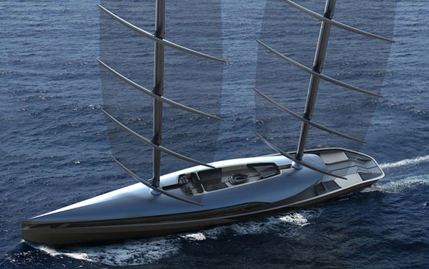 Cauta Super Sailing Yacht by Timur Bozca