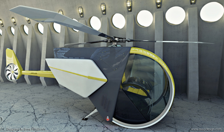 ccc concept car and copter