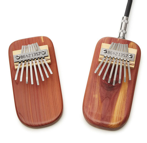 Cedar Thumb Piano - Tiny Music Instrument Inspired by African Musical Tradition
