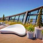 Celebra Building Reception and Terrace Area by Nuvist