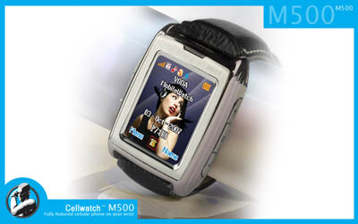 CellWatch M500 – A Watch and A Cell Phone
