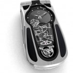 Celcius X VI II LeDIX Origine : A Clamshell Cell Phone With An Integrated Tourbillon Watch