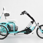 CERO e-Tricycle Features Low Center of Gravity, Adjustable Seating, and Back Support