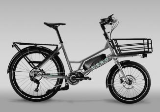 CERO One: A Compact Electric Cargo Bike with Modular Rack System