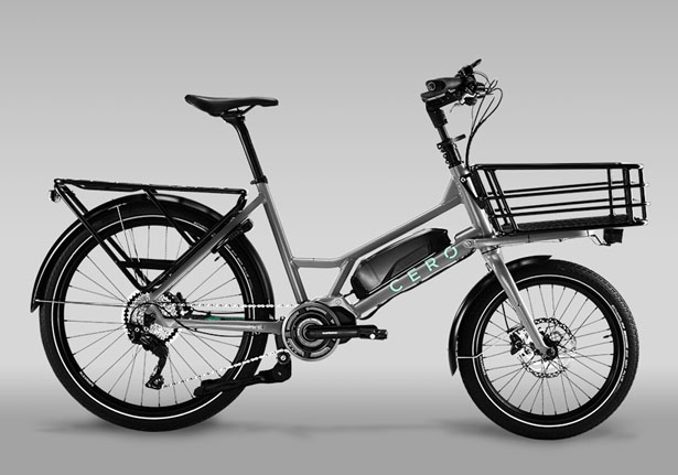 Cero One Compact Electric Cargo Bike
