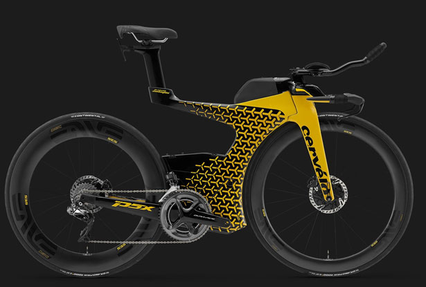Cervélo P5X Lamborghini Edition Triathlon Bike