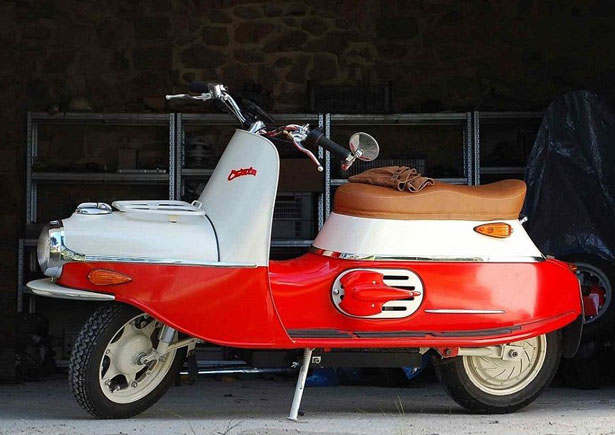 Cezeta Type 506 Electric Scooter