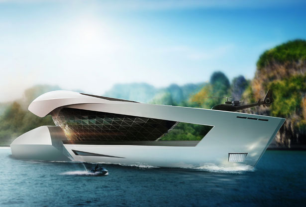 CF8 Motor Yacht by Sea Level Yacht Design and Engineering