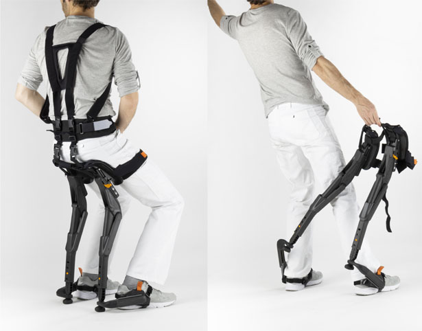 Chairless Chair by Jonathan Medcalf and Marc Sapetti