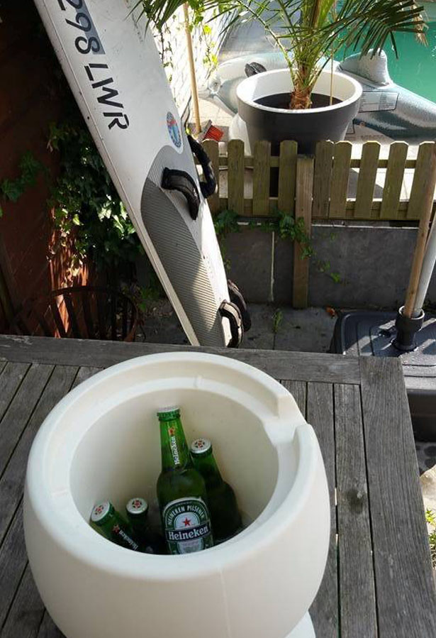 Champ Stool and Cooler in One by Jokjor