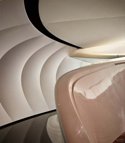 pavilion for chanel designed by zaha hadid