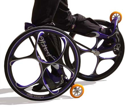 Chariot Skates Combine Skiing And Cycling Into One Skating Product
