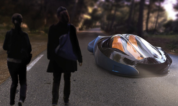 Chase 2053 Futuristic Vehicle