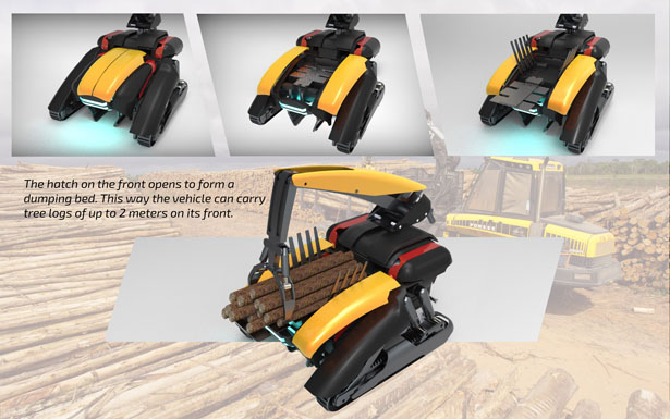 Chela Remote Controlled Heavy Duty Vehicle by Ufuk Seçgel