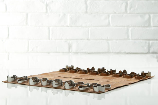 Chess Set with Rollable Board by RawStudio