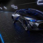 Chevrolet FNR Autonomous Electric Concept Vehicle with Dragonfly Dual Swing Doors